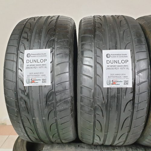 295/35 R21 107Y XL Dunlop SP Sport Maxx (R01) – 50% +4mm – Gomme Estive