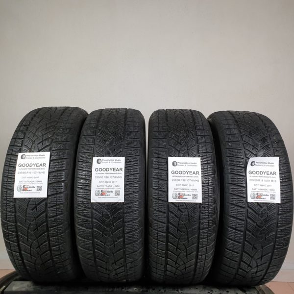 235/60 R18 107H M+S Goodyear Ultragrip Performance (SUV) – 60% +5mm – Gomme Invernali