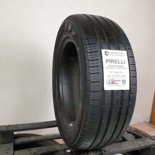 225/65 R17 102H M+S Pirelli Scorpion Verde – 60% +5mm – Gomme Estive