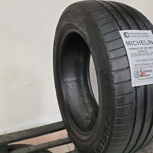 205/55 R16 91V Michelin Primacy HP (ZP) (RSC) Runflat – 70% +6mm – Gomma Estiva (Copia)