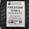 205/50 R16 87V Firestone TZ300A – 60% +5mm – Gomma Estiva