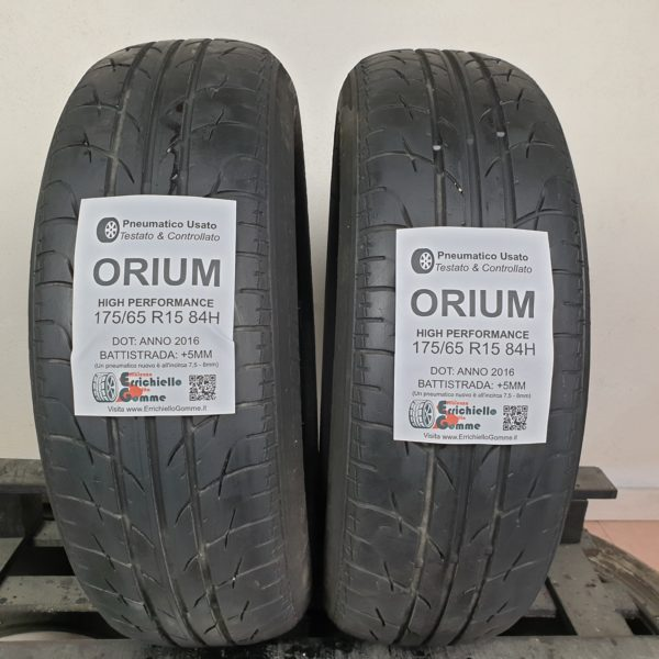 175/65 R15 84H Orium High Performance – 60% +5mm – Gomme Estive
