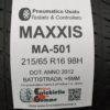 215/65 R16 98H Maxxis MA-501 – 60% +5mm – Gomme Estive