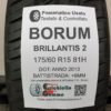 175/60 R15 81H Barum Brillantis 2 – 70% +6mm – Gomma Estiva