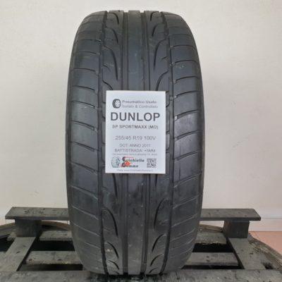 255/45 R19 100V Dunlop SP Sportmaxx (MO) – 60% +5mm – Gomma Estiva