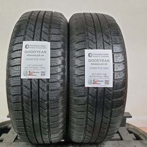 245/60 R18 105H Goodyear Wrangler HP – 70% +6mm – Gomme Estive