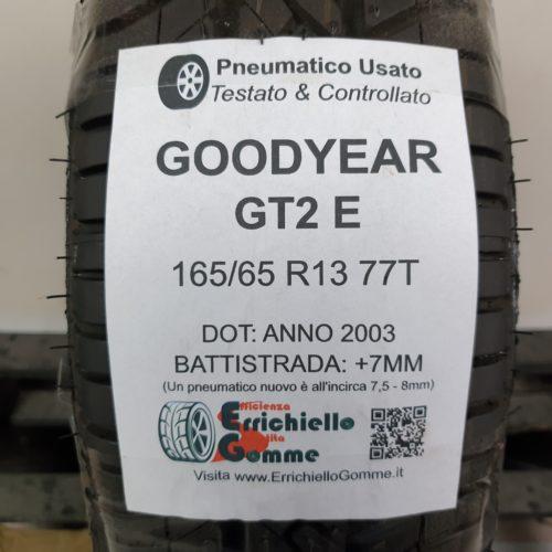 165/65 R13 77T Goodyear GT2 E – 90% +7mm – Gomma Estiva