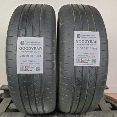 215/60 R17 96H Goodyear EfficientGrip SUV 4×4 – 50% +4mm – Gomme Estive