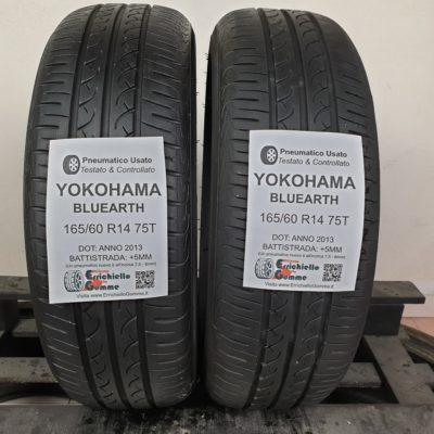 165/60 R14 75T Yokohama Bluearth – 60% +5mm – Gomme Estive
