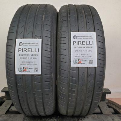 215/65 R17 99V XL Pirelli Scorpion Verde – 50% +4mm – Gomme Estive