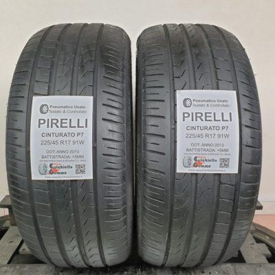 225/45 R17 91W Pirelli Cinturato P7 – 60% +5mm – Gomme Estive