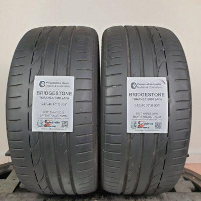 245/40 R18 93Y Bridgestone Potenza S001 (AO) – 60% +5mm – Gomme Estive
