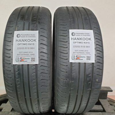 225/55 R18 98H Hankook Optimo K415 – 60% +5mm – Gomme Estive