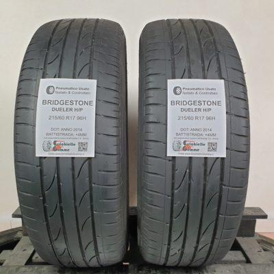 215/60 R17 96H Bridgestone Dueler H/P Sport – 50% +4mm – Gomme Estive