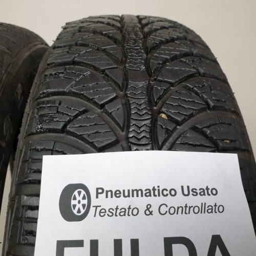 155/65 R14 75T M+S Fulda Kristall Montero 3 – 60% +5mm – Gomme Invernali