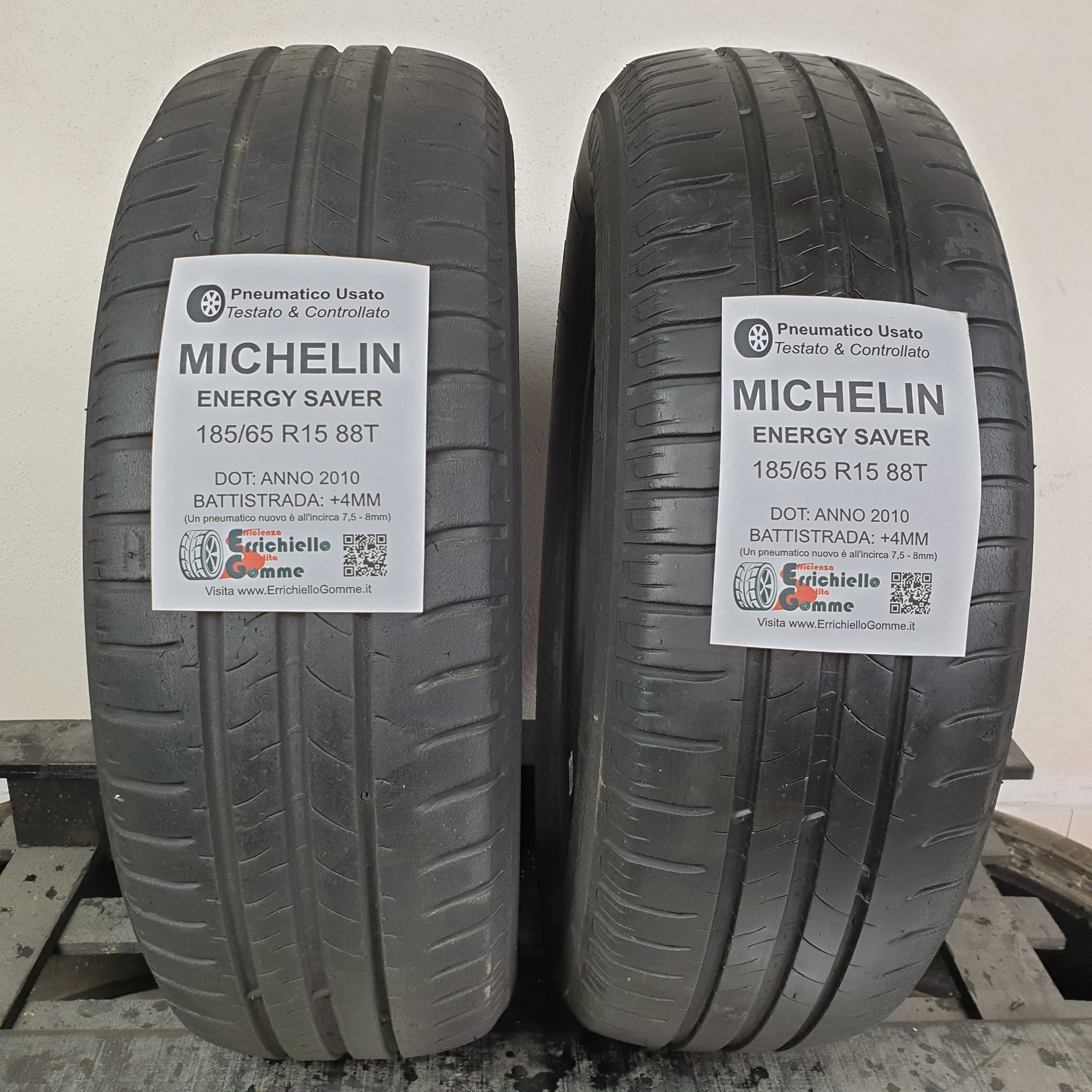 185//65 R15 88T Estive gomme nuove ENERGY SAVER+ MICHELIN