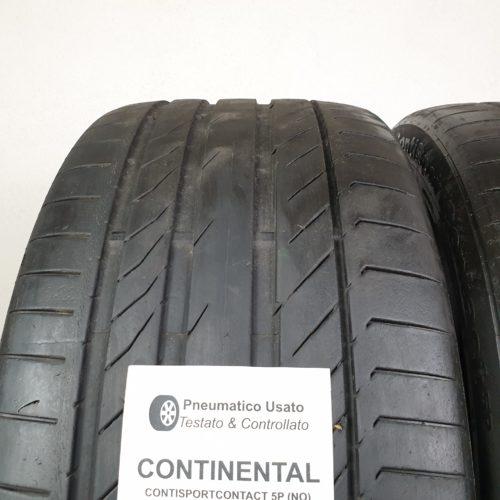 265/40 R21 101Y Continental ContiSportContact 5P (NO) – 60% +5mm – Gomme Estive