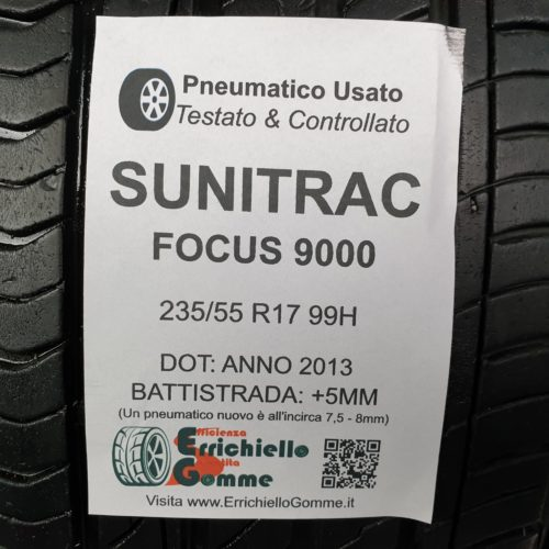 235/55 R17 99H Sunitrac Focus 9000  – 60% +5mm – Gomme Estive