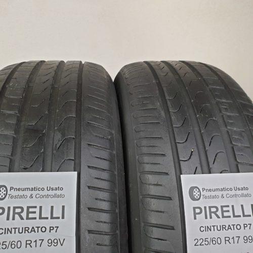 225/60 R17 99V Pirelli Cinturato P7 – 60% +5mm – Gomme Estive