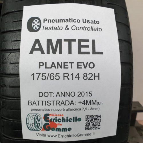 175/65 R14 82H Amtel Planet Evo – 50% +4mm – Gomme Estive