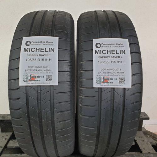 195/65 R15 91H Michelin Energy Saver+ – 60% +5mm – Gomme Estive