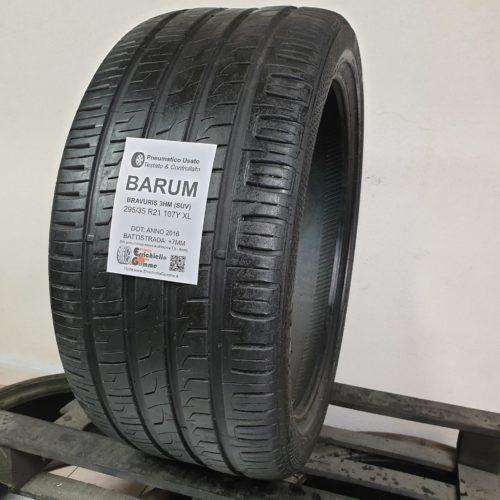 295/35 R21 107Y XL Barum Bravuris 3HM (SUV) –  90% +7mm – Gomma Estiva