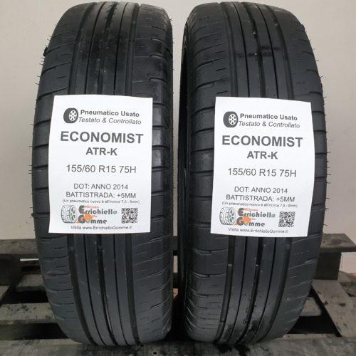155/60 R15 75H Economist ATR-K – 60% +5mm – Gomme Estive