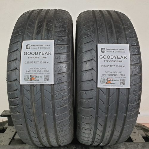 225/55 R17 101H XL Goodyear EfficientGrip – 70% +6mm – Gomme Estive
