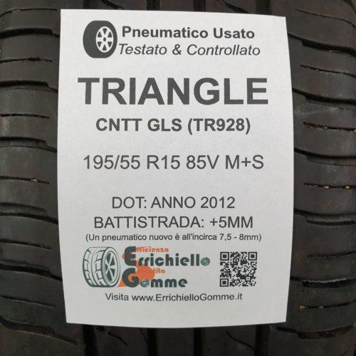 195/55 R15 85V M+S Triangle CNTT GLS (TR928)  –  60% +5mm – Gomma 4 Stagioni