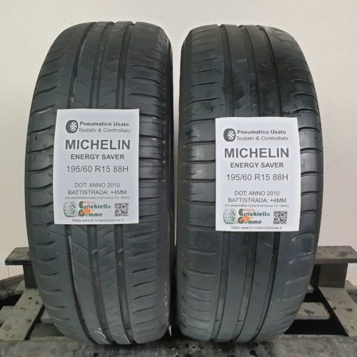 195/60 R15 88H Michelin Energy Saver –  50% +4mm – Gomme Estive