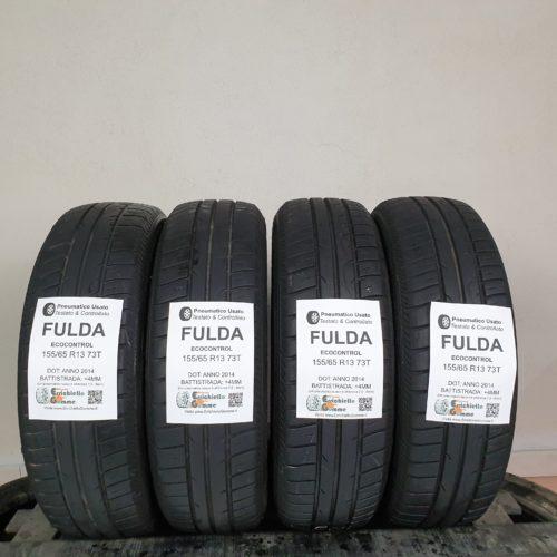 155/65 R13 73T Fulda EcoControl – 50% +4mm – Gomme Estive
