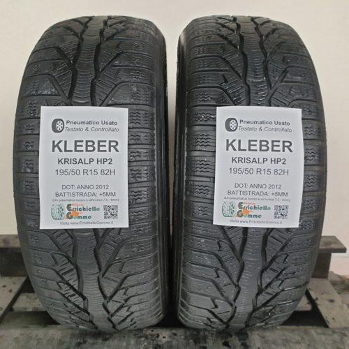 195/50 R15 82H Kleber Krisalp HP2 – 60% +5mm – Gomme Invernali