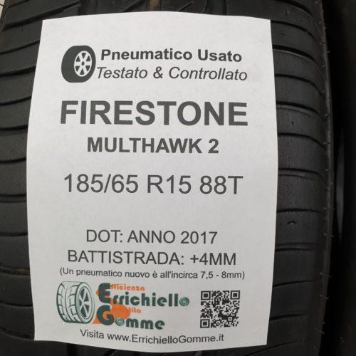 185/65 R15 88T Firestone MultiHawk 2  – 50% +4mm – Gomme Estive