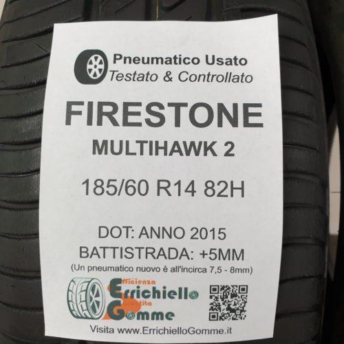 185/60 R14 82H Firestone MultiHawk 2  – 60% +5mm – Gomme Estive