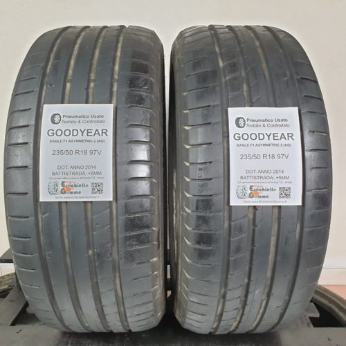 235/50 R18 97V Goodyear Eagle F1 Asymmetric 2 (AO) –  60% +5mm – Gomme Estive
