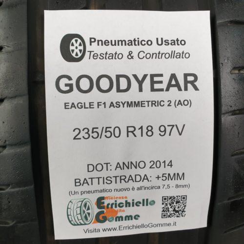 235/50 R18 97V Goodyear Eagle F1 Asymmetric 2 (AO) –  60% +5mm – Gomme Estive