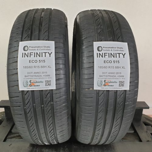 185/60 R15 88H XL Infinity Eco 515 –  60% +5mm – Gomme Estive