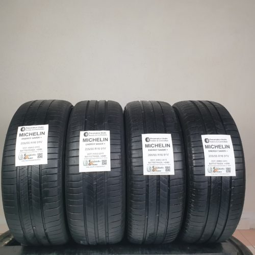 205/55 R16 91V Michelin Energy Saver+ –  50% +4mm – Gomme Estive