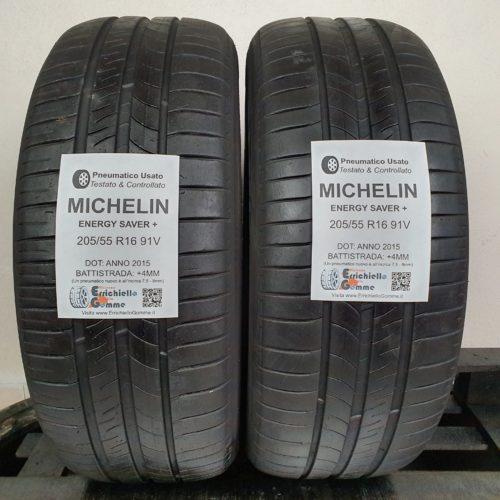 205/55 R16 91V Michelin Energy Saver+ –  50% +4mm – Gomme Estive