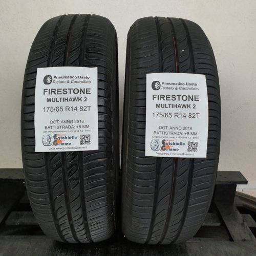 175/65 R14 82T Firestone MultiHawk 2 – 60% +5mm – Gomme Estive