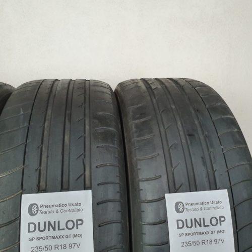 235/50 R18 97V Dunlop SP SportMaxx GT (MO) – 50% +4mm – Gomme Estive