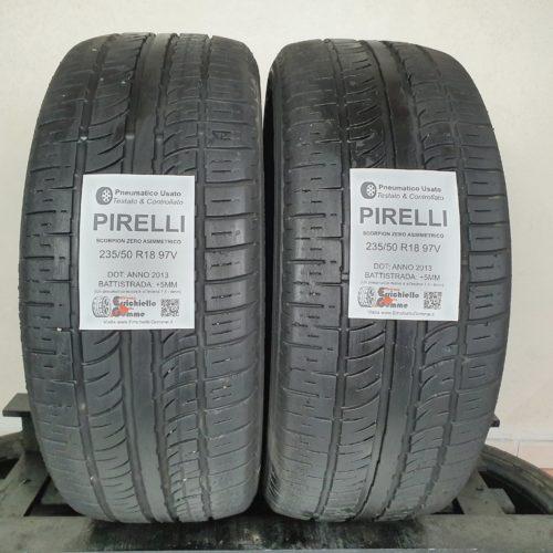 235/50 R18 97V Pirelli Scorpion Zero Asimmetrico – 60% +5mm – Gomme Estive