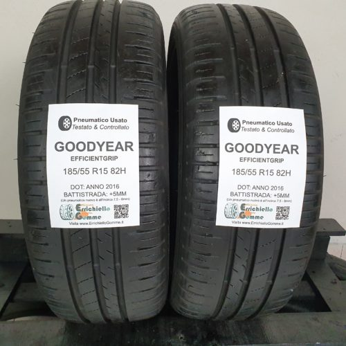 185/55 R15 82H Goodyear EfficientGrip – 60% +5mm – Gomme Estive