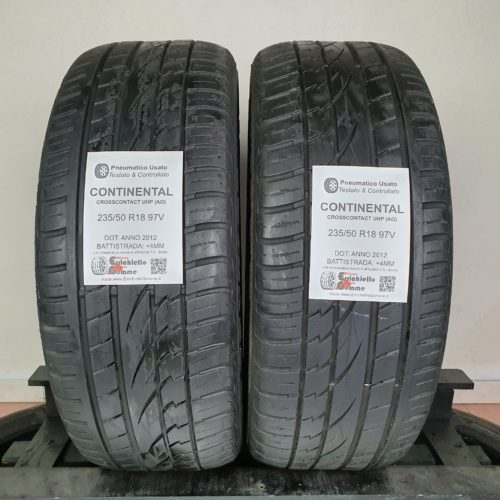 235/50 R18 97V Continental CrossContact UHP (AO) – 50% +4mm Gomme Estive