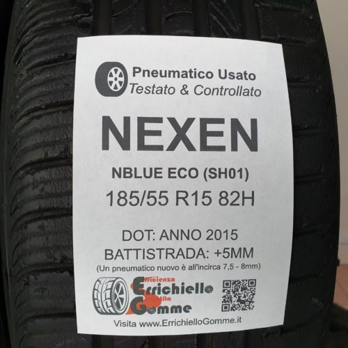 185/55 R15 82H Nexen NBlue Eco (SH01) –  60% +5mm – Gomme Estive