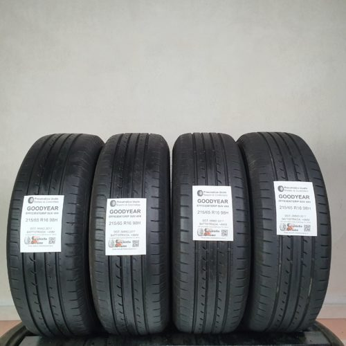 215/65 R16 98H Goodyear EfficientGrip SUV 4×4 – 50% +4mm – Gomme Estive