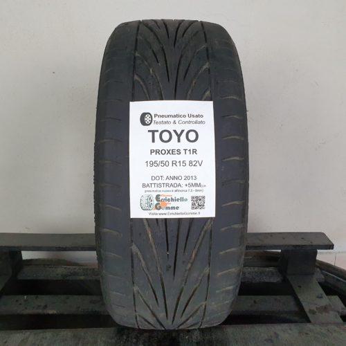 195/50 R15 82V Toyo Proxes T1R – 60% +5mm Gomma Estiva