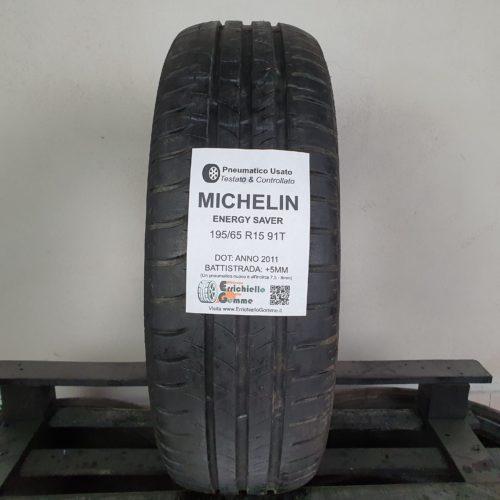 195/65 R15 91T Michelin Energy Saver – 60% +5mm Gomma Estiva