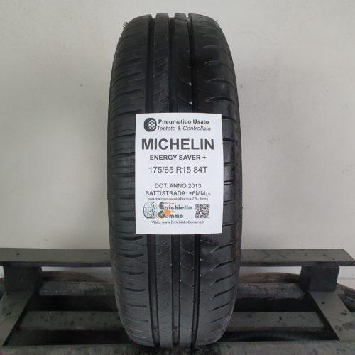 175/65 R15 84T Michelin Energy Saver+ – 70% +6mm Gomma Estiva