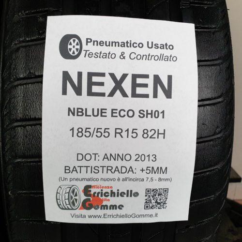 185/55 R15 82H Nexen NBlue Eco SH01 – 60% +5mm – Gomme Estive